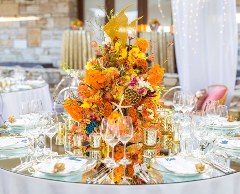 Table decoration Sparkling stationery