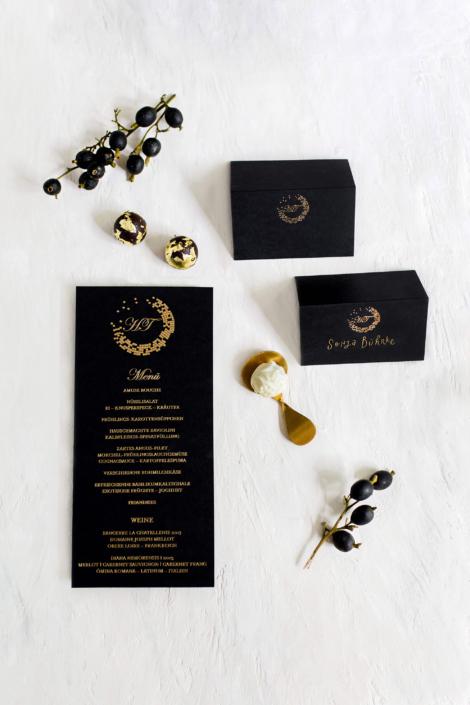 Black meets Gold Mosaic